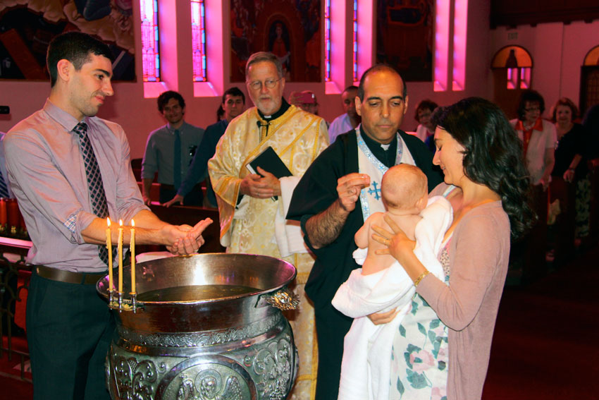 Your Child's Baptism at Holy Trinity Cathedral | Holy